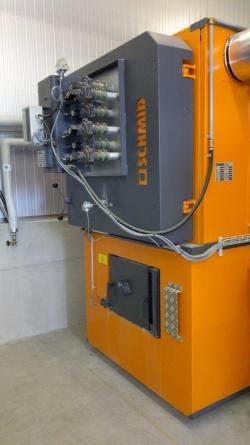 Zdjęcie główne #21 - Używany kocioł biomasowy Schmid typu UTSK-550.32 o mocy nominalnej 550 kW