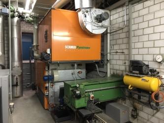 Zdjęcie główne #1064 - Używany kocioł biomasowy Schmid typu UTSR-550